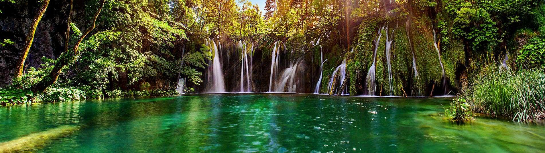 Cascades en Croatie