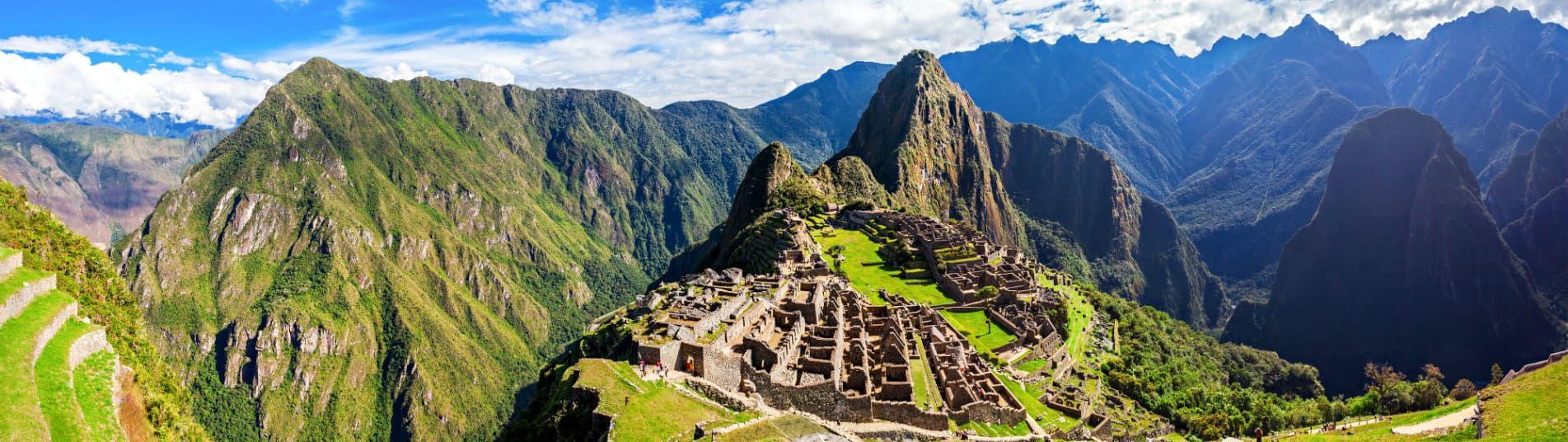 Machu Picchu au Pérou, Amérique du Sud