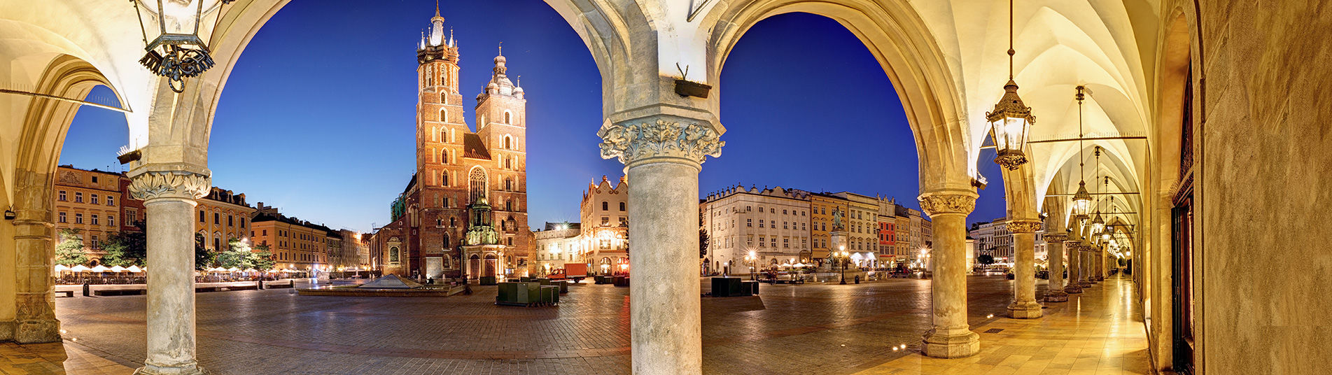 Place à Cracovie, Pologne