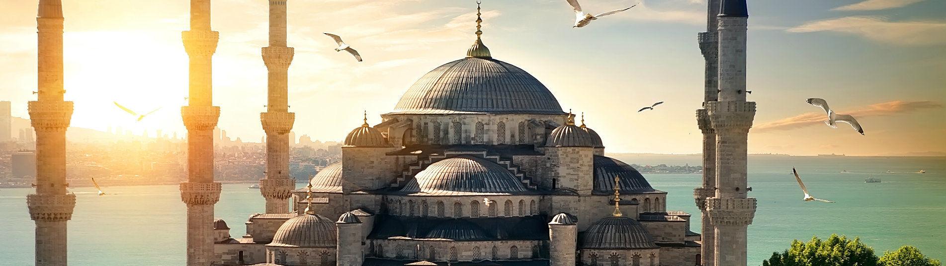 Mosquée Bleue à Istanbul Turquie
