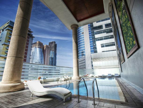 Hôtel Byblos Tecom Dubaï 4* - 1